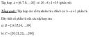 Bài 1 trang 17 Tài liệu dạy – học toán 6 tập 1