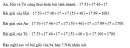 Bạn nào đúng trang 33 Tài liệu dạy – học toán 6 tập 1