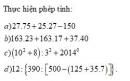 Bài 1 trang 60 Tài liệu dạy – học toán 6 tập 1