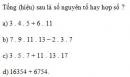 Bài 2 trang 80 Tài liệu dạy – học toán 6 tập 1