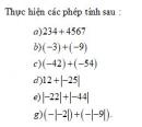 Bài 1 trang 120 Tài liệu dạy – học toán 6 tập 1
