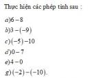 Bài 1 trang 130 Tài liệu dạy – học toán 6 tập 1