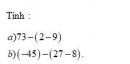 Bài 1 trang 131 Tài liệu dạy – học toán 6 tập 1