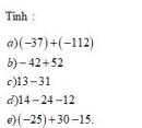 Bài 6 trang 131 Tài liệu dạy – học toán 6 tập 1