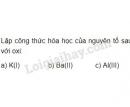Bài 2 trang 52 Tài liệu dạy - học Hóa học 8 tập 1