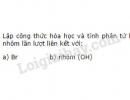 Bài 2 trang 54 Tài liệu dạy - học Hóa học 8 tập 1