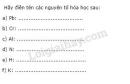Bài 3 trang 30 Tài liệu dạy - học Hóa học 8 tập 1