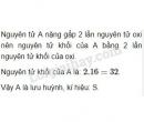 Bài 4 trang 43 Tài liệu dạy - học Hóa học 8 tập 1