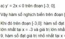 Câu hỏi 1 trang 20 SGK Giải tích 12