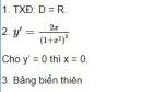 Câu hỏi 3 trang 23 SGK Giải tích 12