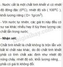 Hoạt động 7 trang 13 Tài liệu dạy - học Hóa học 8 tập 1