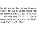 Bài 1 trang 15 Tài liệu dạy - học Hóa học 8 tập 2