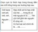 Bài 1 trang 19 Tài liệu dạy - học Hóa học 8 tập 2