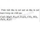 Bài 3 trang 32 Tài liệu dạy - học Hóa học 8 tập 2