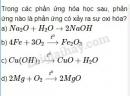 Bài 5 trang 33 Tài liệu dạy - học Hóa học 8 tập 2