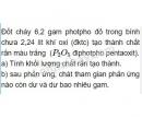 Bài 6 trang 10 Tài liệu dạy - học Hóa học 8 tập 2