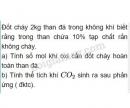 Bài 7 trang 10 Tài liệu dạy - học Hóa học 8 tập 2