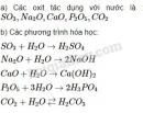 Bài 1 trang 56 Tài liệu dạy - học Hóa học 8 tập 2