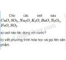Bài 1 trang 66 Tài liệu dạy - học Hóa học 8 tập 2
