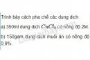 Bài 1 trang 88 Tài liệu dạy - học Hóa học 8 tập 2