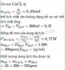 Bài 1 trang 91 Tài liệu dạy - học Hóa học 8 tập 2