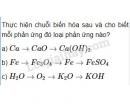 Bài 2 trang 66 Tài liệu dạy - học Hóa học 8 tập 2