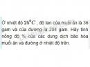 Bài 6 trang 83 Tài liệu dạy - học Hóa học 8 tập 2
