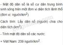 Bài 2 trang 9 SGK Địa lí 7