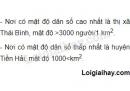Bài 1 trang 13 SGK Địa lí 7