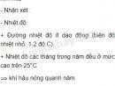 Quan sát biểu đồ nhiệt độ và lượng mưa của Xin-ga-po (vĩ độ 1°B) và nhận xét: