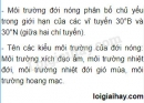 Bài 1 trang 18 SGK Địa lí 7