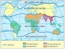 Xác định vị trí của môi trường nhiệt đới gió mùa trên hình 5.1
