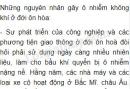Bài 1 trang 58 SGK Địa lí 7