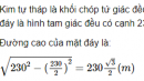 Câu hỏi 4 trang 24 SGK Hình học 12