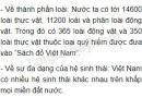 Bài 1 trang 42 (Đặc điểm sinh vật Việt Nam) Tập bản đồ Địa lí 8