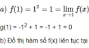 Câu hỏi 1 trang 135 SGK Đại số và Giải tích 11
