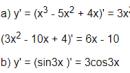 Câu hỏi 1 trang 172 SGK Đại số và Giải tích 11