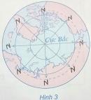 Bài 3 trang 8 Tập bản đồ Địa lí 6