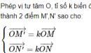 Câu hỏi 1 trang 30 SGK Hình học 11