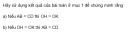 Trả lời câu hỏi 1 Bài 3 trang 105 SGK Toán 9 Tập 1