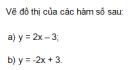 Trả lời câu hỏi 3 Bài 3 trang 51 SGK Toán 9 Tập 1
