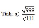 Trả lời câu hỏi 3 Bài 4 trang 18 SGK Toán 9 Tập 1