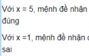 Câu hỏi 3 trang 5 SGK Đại số 10