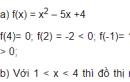 Câu hỏi 1 trang 100 SGK Đại số 10