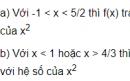 Câu hỏi 3 trang 103 SGK Đại số 10