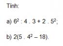 Trả lời câu hỏi 1 Bài 9 trang 32 SGK Toán 6 Tập 1
