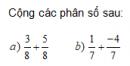 Trả lời câu hỏi Bài 7 trang 25 Toán 6 Tập 2