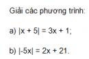 Trả lời câu hỏi 2 Bài 5 trang 51 SGK Toán 8 Tập 2