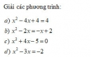 Bài tập 22 trang 25 Tài liệu dạy – học Toán 8 tập 2