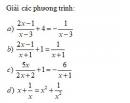 Bài tập 26 trang 26 Tài liệu dạy – học Toán 8 tập 2